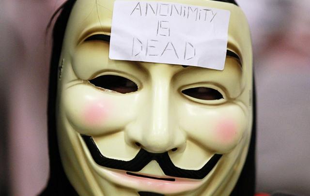 Anonymous vulneró la página oficial de internet de la tarj