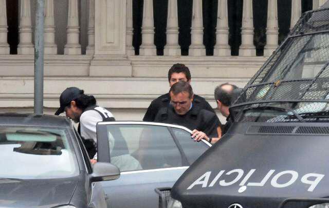 Trasladaron al ex jefe policial Hugo Tognoli al penal de Ezeiza