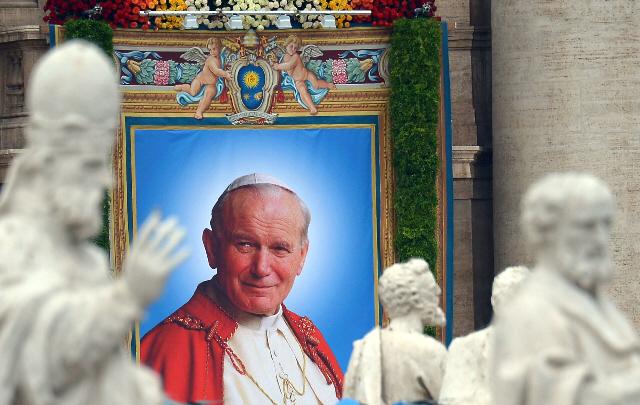 Llegaron reliquias de San Juan Pablo II a Mendoza