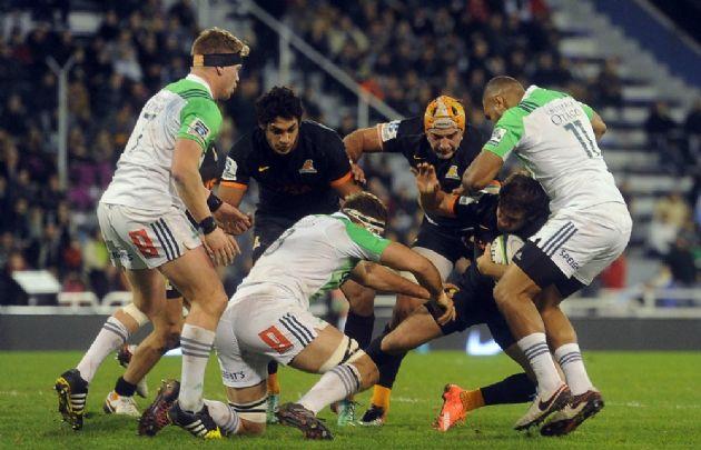 Highlanders mostró su poderío ante los Jaguares — Super Rugby