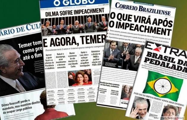 Toma Temer el mando de Brasil