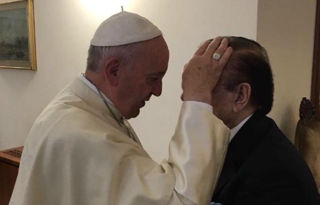 Menem: Tuve una reunión excelente con el papa Francisco