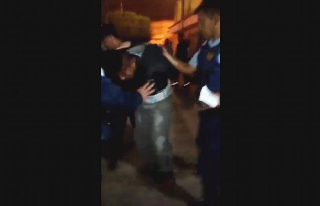 Vecinos de barrio Zumarán golpearon a motochorros