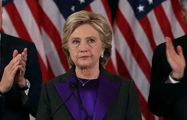 Miley llora tras derrota de Hillary Clinton