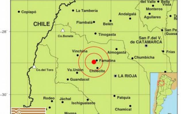 Sismo de 6,2 sacude el noreste de Argentina