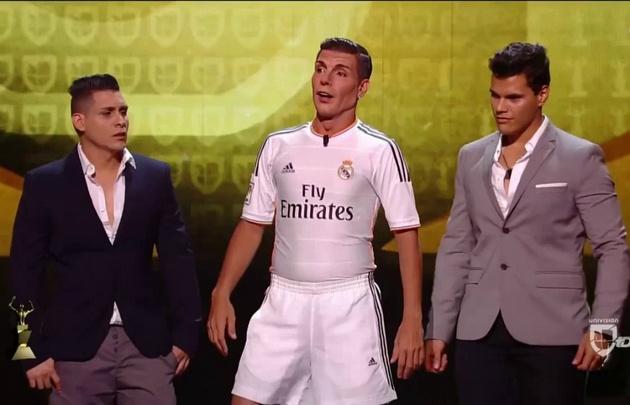 Martín Bossi imitó de forma desopilante a Cristiano Ronaldo en Miami