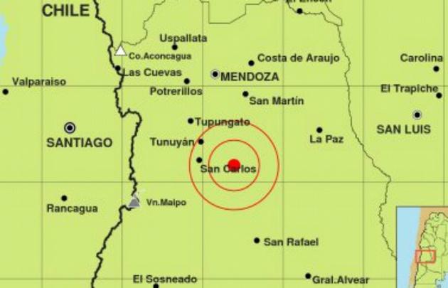 Dos sismos de mediana intensidad sacudieron la mañana mendocina