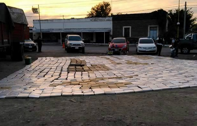 Incautan más de 2.600 kilos de marihuana — Córdoba
