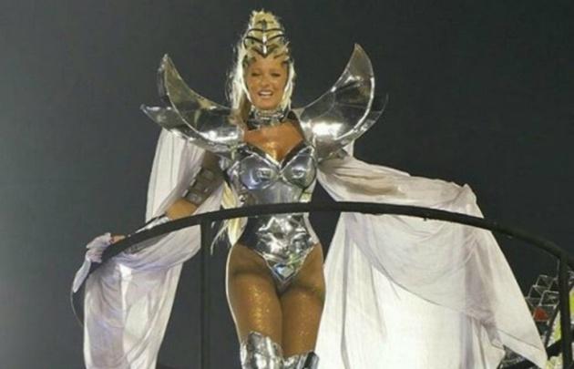 El lomazo de Xuxa en el Carnaval de Río de Janeiro