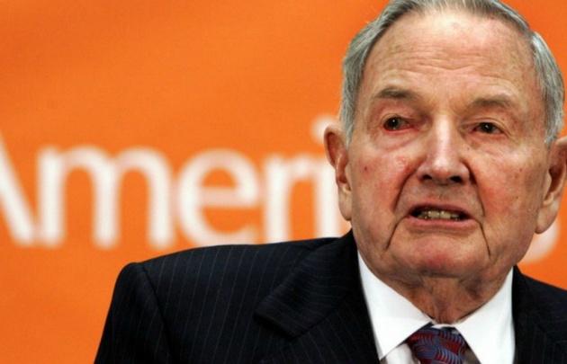 Muere el magnate estadounidense David Rockefeller