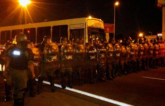 La Gendarmería desalojó el piquete de Panamericana y ruta 197