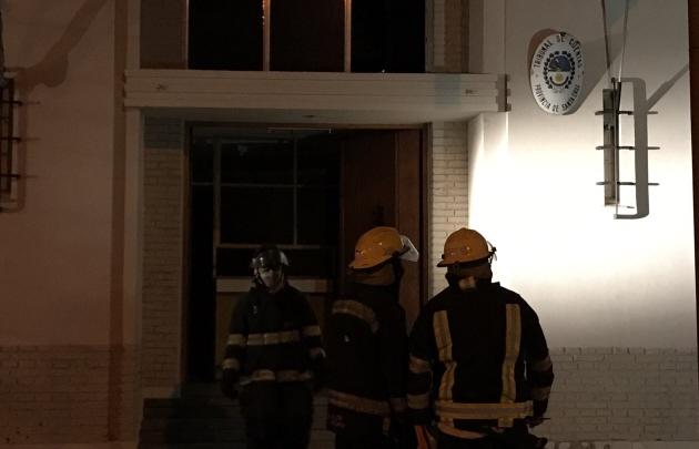 Misterioso incendio en el Tribunal de Cuentas de Río Gallegos