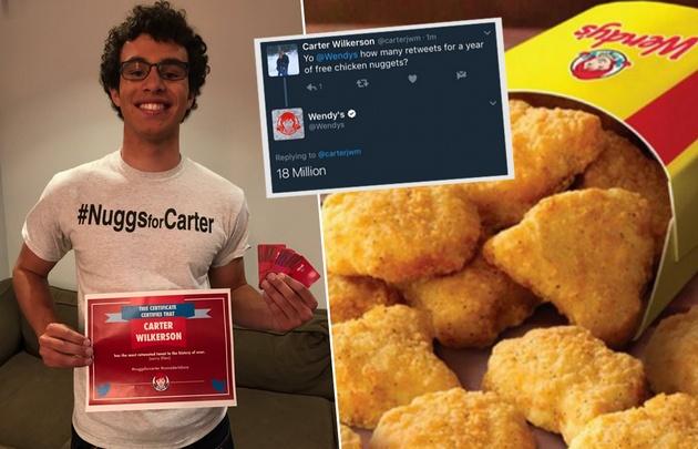 Pide nuggets y es el tuit más retuiteado