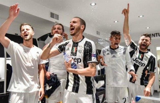 La Juventus, primer finalista de la Champions