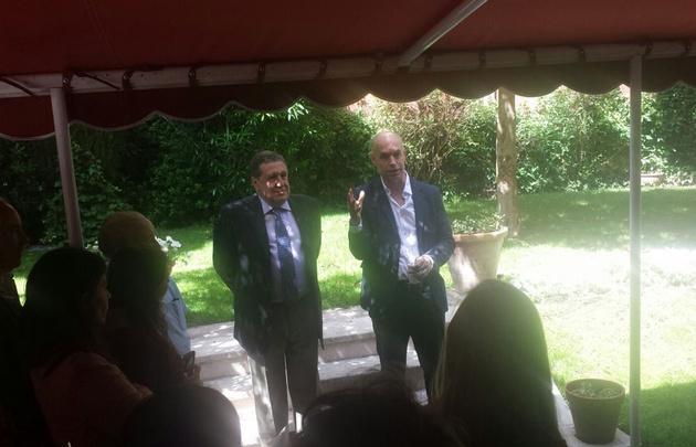 El alcalde de Buenos Aires analiza en Berlín nuevas experiencias de gestión