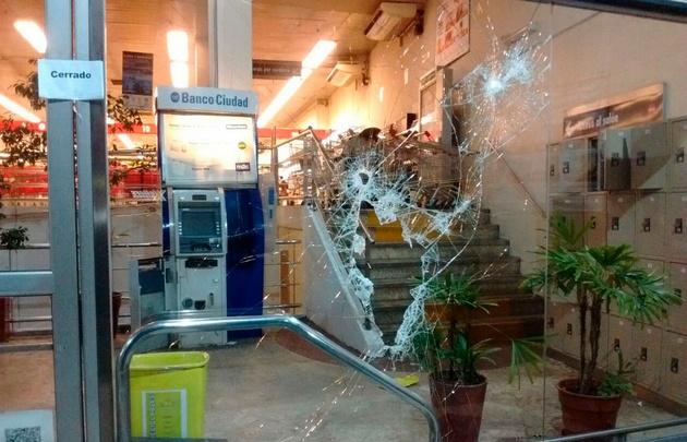 Caballito: intentaron robar un cajero y tiraron clavos miguelito para escapar