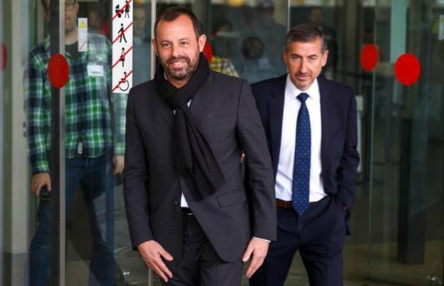 Detenido el expresidente del Barça Sandro Rosell por blanqueo