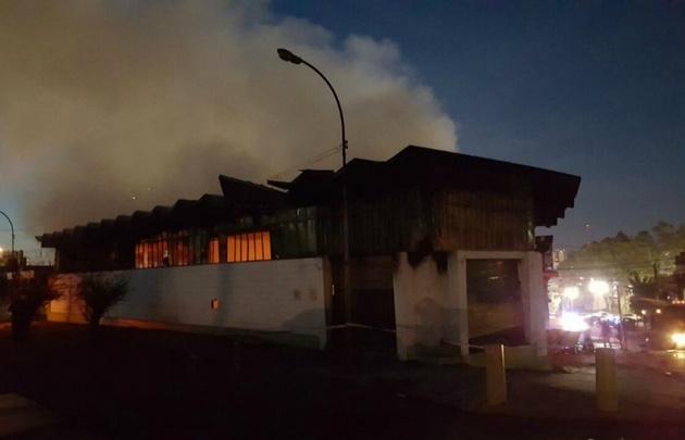 Se incendio una planta de reciclaje en Cofico No hay víctimas — Córdoba