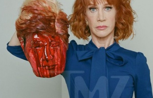 Cancelan presentaciones de Kathy Griffin por controversial video