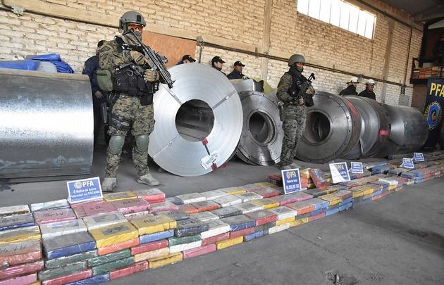 Casi dos toneladas de cocaína valuadas en 60 millones de dólares fueron secuestradas