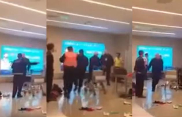 Tensión en un aeropuerto argentino por un pasajero con ataque de ira