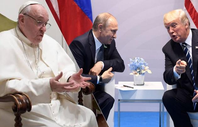 Pide Papa a G20 reducir carrera armamentista