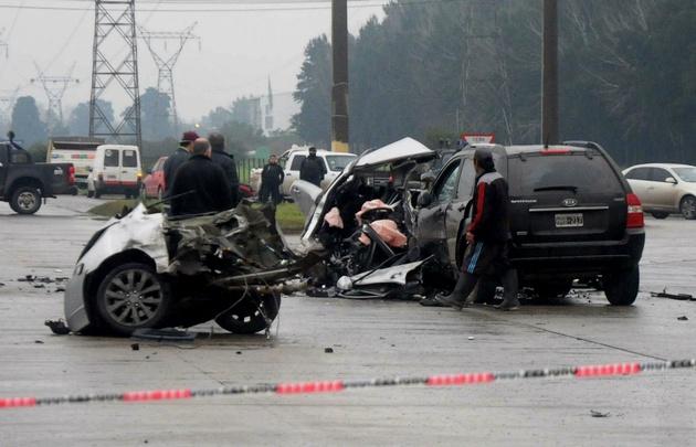 Dos muertos tras un choque entre vehículos en Sorrento y Provincias Unidas