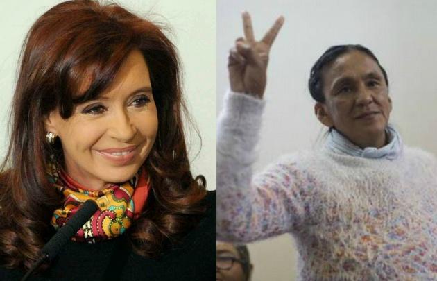 Cristina Kirchner llamó a Milagro Sala a la cárcel — ARGENTINA
