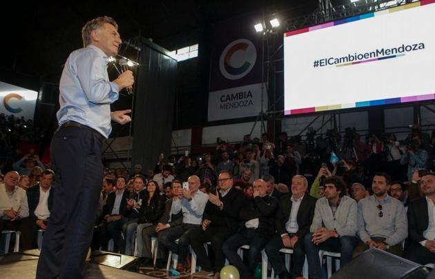 Macri, sin filtro contra los narcos: