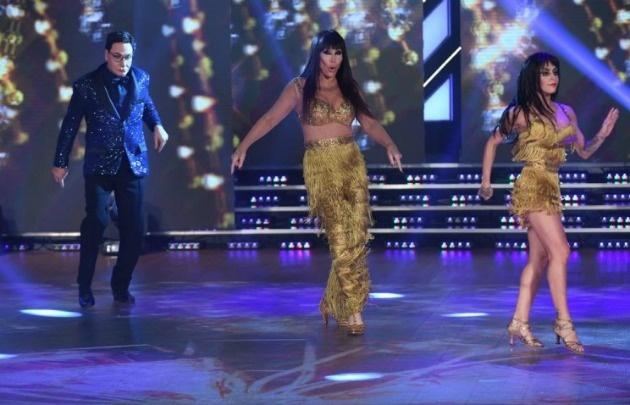 La gran coreografía de Moria Casán en el Bailando