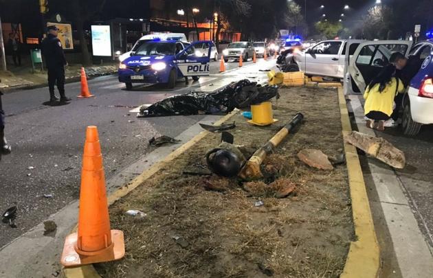 Accidente fatal en avenida Rafael Núñez al 3600