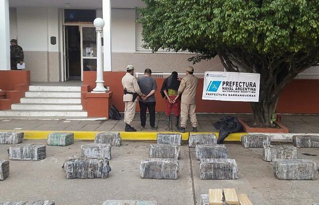 Secuestraron casi 1.500 kilos de marihuana en Chaco