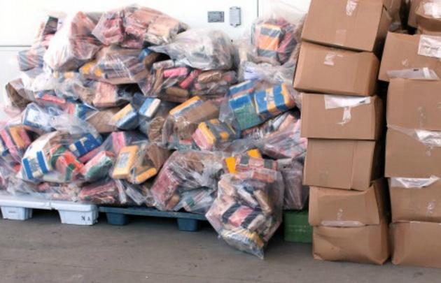 Detectan en Canadá una tonelada de cocaína