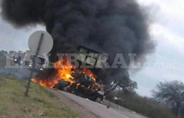 Tragedia en la ruta 34 en Santiago del Estero