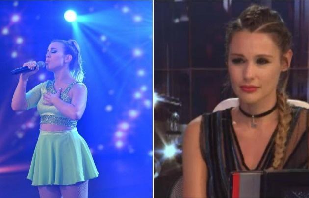 Laura Esquivel cantó en Showmatch y Pampita lloró emocionada