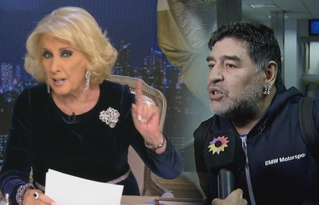 Mirtha le hará juicio a Maradona por