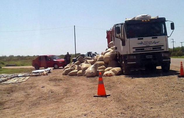 Trasladaba 3,5 toneladas de marihuana hacia Córdoba