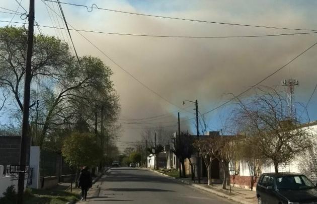Incendio en CosquínIncendio en CosquínIncendio en Cosquín