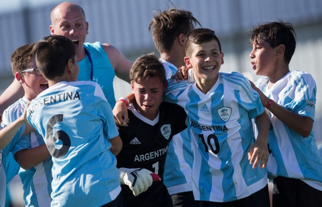 México se corona en la Copa Danone al vencer a Argentina