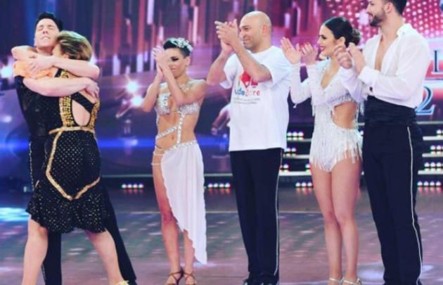Silvina Luna y Freddy Villarreal se despidieron del Bailando