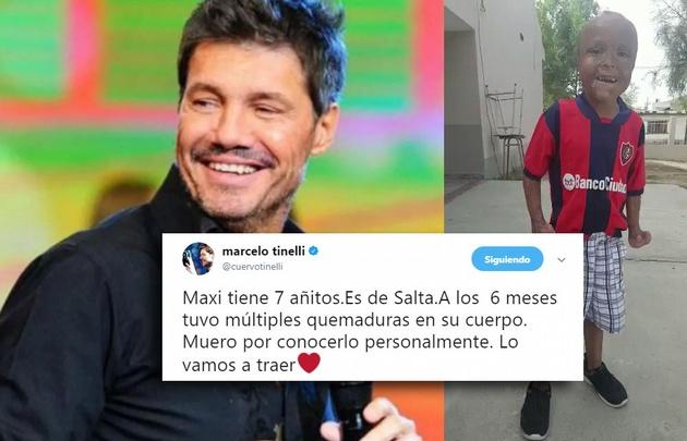 Marcelo Tinelli movilizado luego de encontrarse con Maxi: