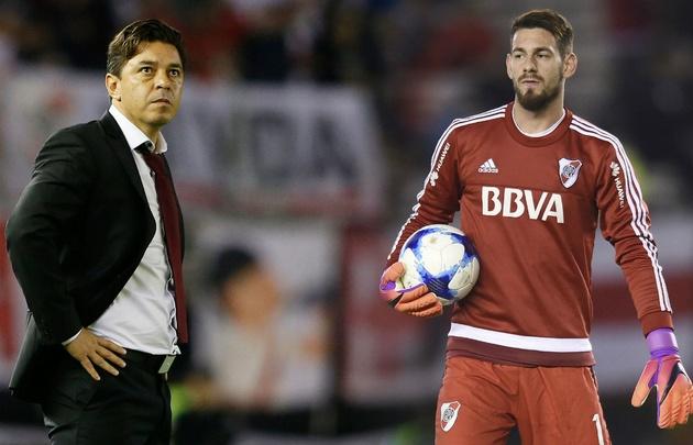 Franco Armani de nuevo fue ofrecido a River Plate