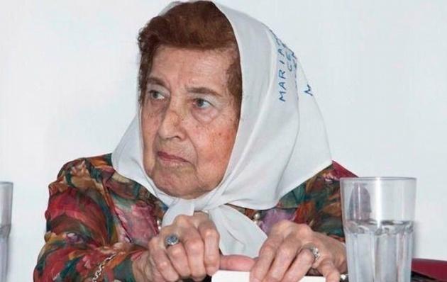 Falleció Marta Vásquez, presidenta de Madres de Plaza de Mayo Línea Fundadora