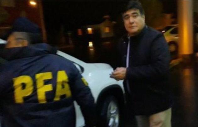Detuvieron a Carlos Zanini en Río Gallegos