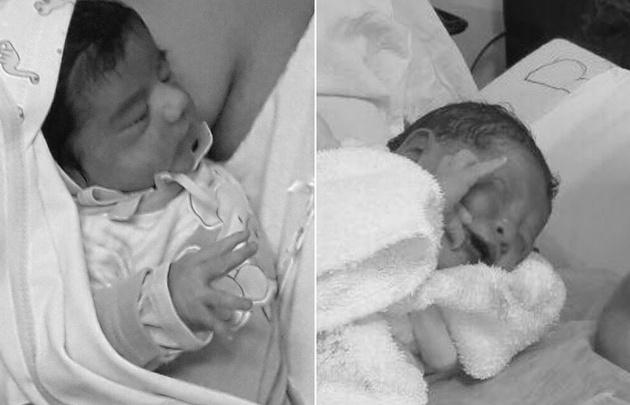 ¿La primera beba del 2018 es marplatense?