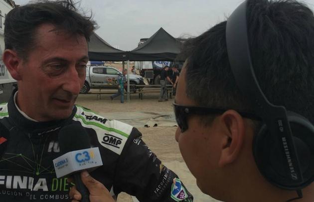 Rally Dakar: el argentino Villagra tercero en la general