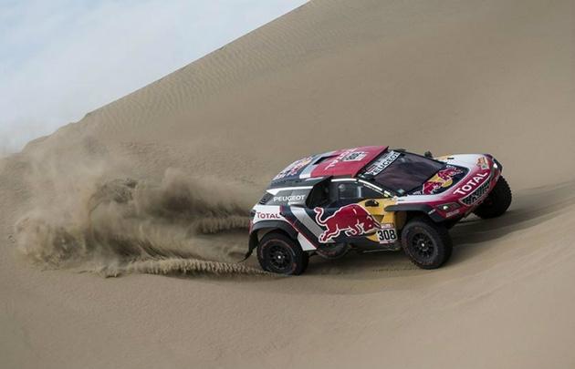Peterhansel y Barreda se imponen en la quinta etapa del Rally Dakar
