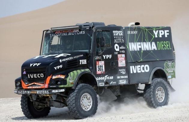 El alemán Juergen Droessiger, primer piloto en abandonar el Dakar 2018