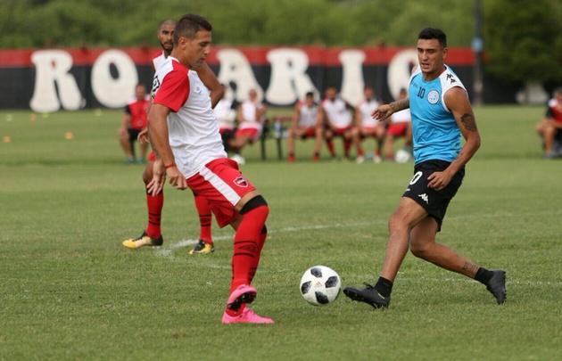 Newell's y Belgrano igualaron en un amistoso
