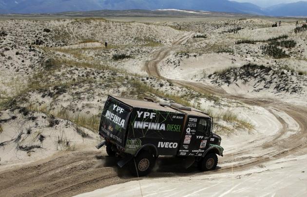 Novena etapa del Dakar fue suspendida por condiciones climáticas